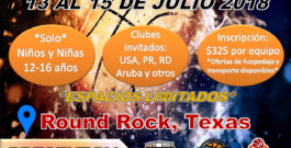 Torneo Texas 2018 – 7/13/18 to 7/15/18